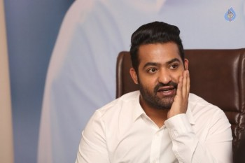 Jr NTR Interview Photos :09-01-2016