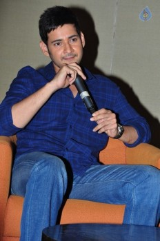 Mahesh Babu Interview Photos