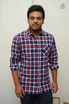 Nawin Vijaykrishna Interview Photos