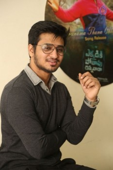 Nikhil Interview Photos