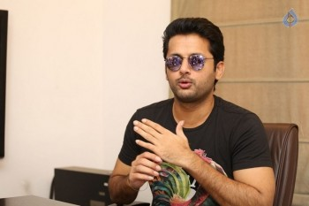 Nithiin Interview Photos