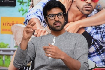 Ram Charan Interview Photos :14-10-2015