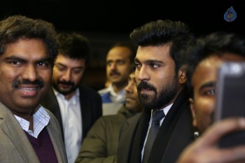 Ram Charan USA Visit Day 1 Photos