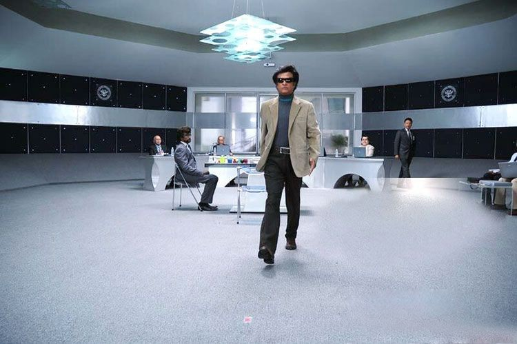 Rajinikanth Robo Movie New Stills - 10 / 16 photos