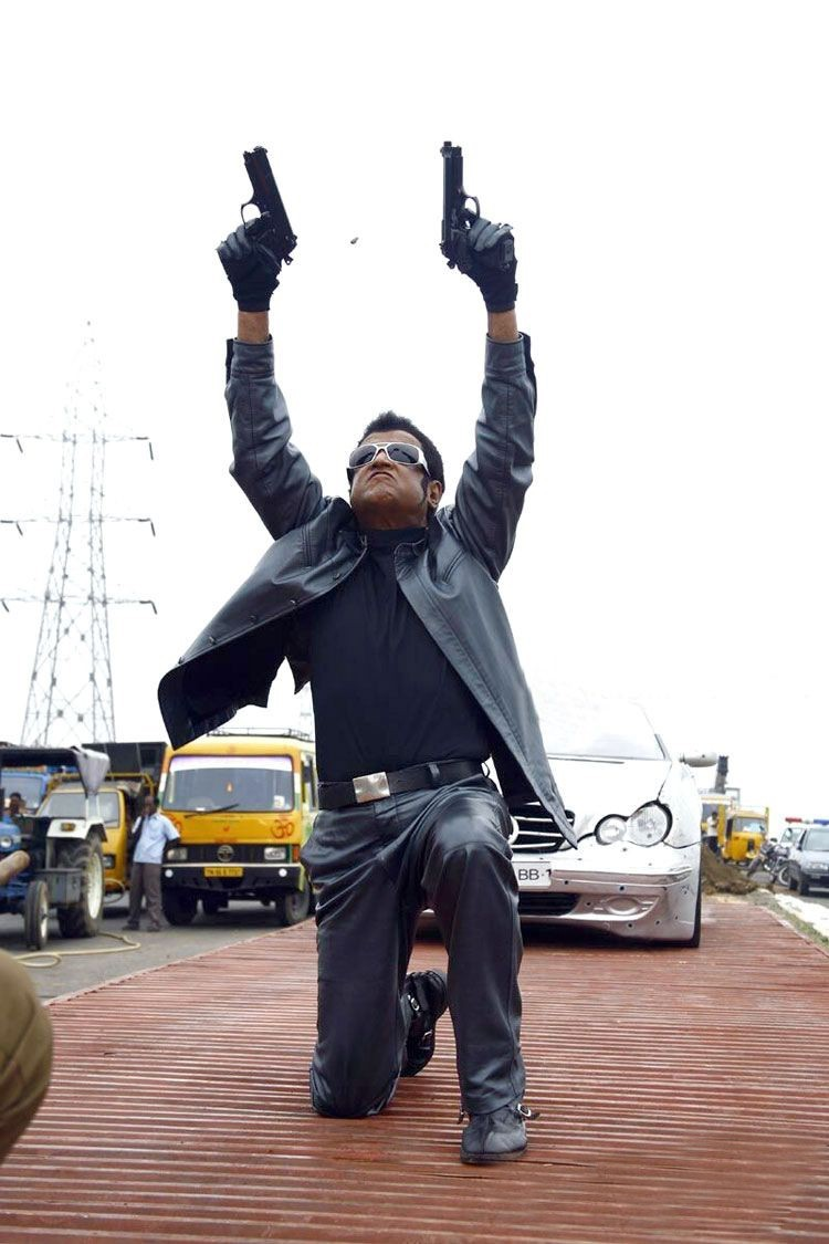 Rajinikanth Robo Movie New Stills