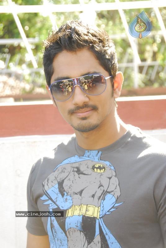 Siddharth stills click for next photo