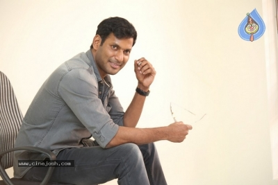Vishal Interview Photos - 1 of 18