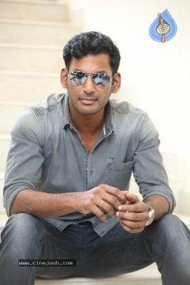 Vishal Interview Photos - 4 of 18
