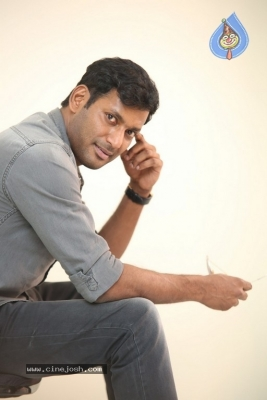 Vishal Interview Photos - 10 of 18