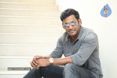 Vishal Interview Photos - 11 of 18