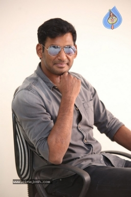 Vishal Interview Photos - 12 of 18
