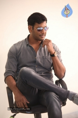 Vishal Interview Photos - 18 of 18