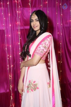 Adah Sharma at Zee Telugu Apsara Awards :09-04-2017