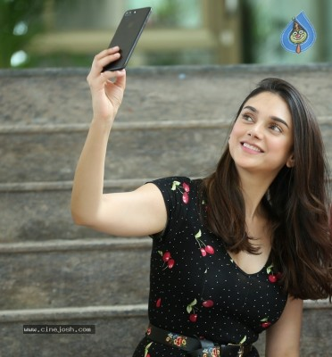 Aditi Rao Hydari Stills in Sammohanam Movie