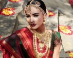 Amy Jackson Bridal Look Photos :25-01-2015