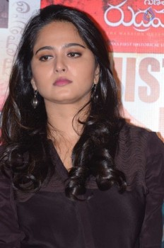 Anushka at Rudhramadevi Success Meet  :13-10-2015