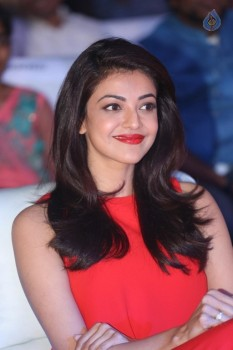 Kajal Aggarwal at Oopiri Audio Launch :01-03-2016