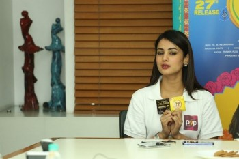 Sonal Chauhan Size Zero Interview Photos