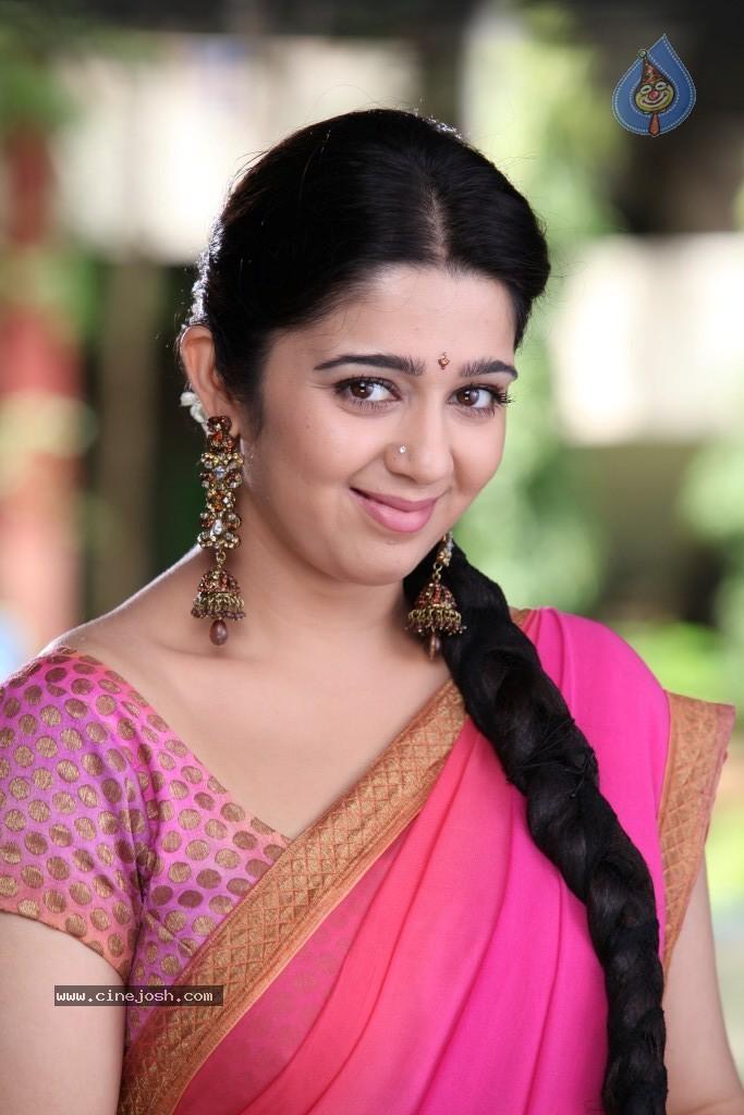 Charmi Hot actress hot saree hot navel hot cleavage photos   Indian ...