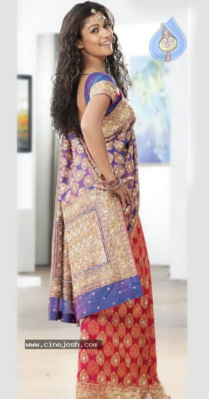 Nayanthara New Photos In Saree - Photo 16 of 16