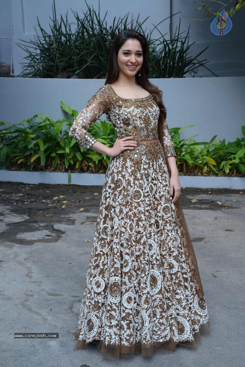 Tamanna at Bengal Tiger Movie Opening