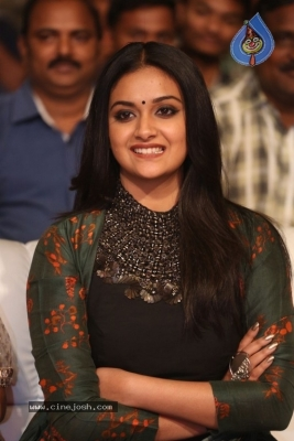 Keerthy Suresh Photos at Gang Pre Release Event  - 7 of 21