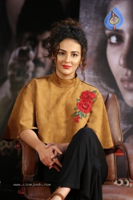 Seerat Kapoor at Raju Gari Gadhi 2 Press Meet - 1 of 30