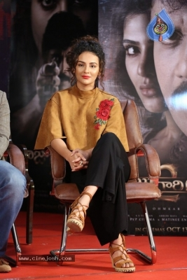 Seerat Kapoor at Raju Gari Gadhi 2 Press Meet - 2 of 30