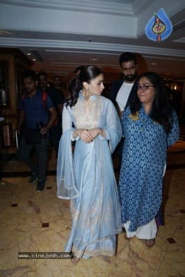Alia Bhatt And Vicky Kaushal At Song Launch Of Film Raazi