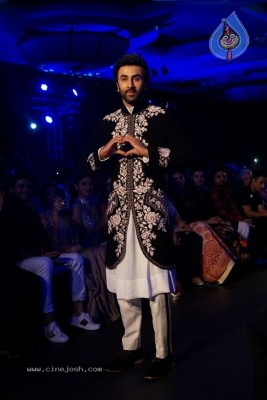 Bollywood Celebrities Ramp Walk At The Mijwan Fashion Show 2018