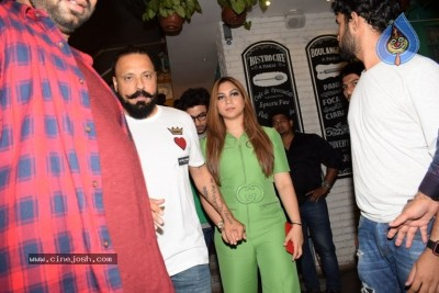 Bollywood Celebs At Success Football Party At Juhu