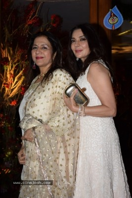 Bollywood Celebs Attend Saudamini Mattu Wedding Reception