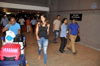 Celebrities at Mumbai Airport