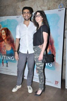 Celebrities at Screening of Film Waiting