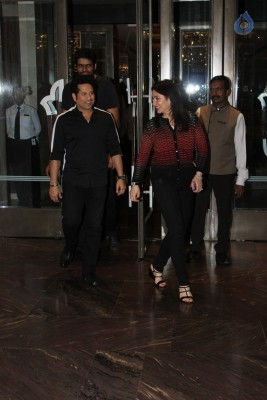 Celebrities at Zaheer Khan Engagement Party