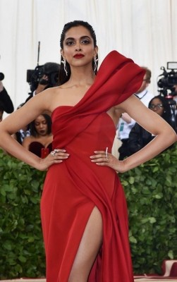Deepika Padukone At The MET Gala 2018