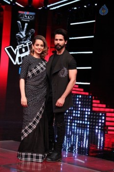 The Sets Of The Voice India Season 2