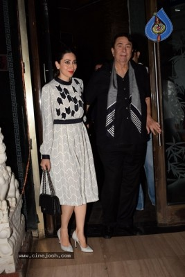 Kapoor Family Celebrate The Birthday Of Babita