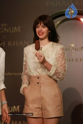 Magnum Hosts A Scintillating Evening With Kalki And Farah Khan