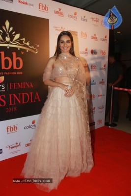 Manushi Chhillar At Femina Miss India Conference