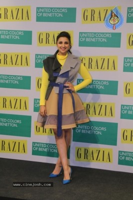 Parineeti Chopra Launch Cover Of Grazia Magazine