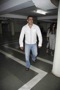 Salman Khan at Prayer Meet of Rajat Badjatya