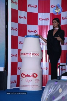 Shilpa Shetty Unveil New Yakult Light Photos