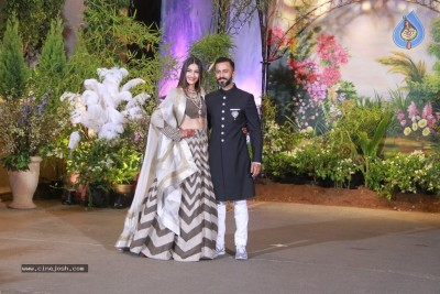 Sonam Kapoor - Anand Ahuja Reception Photos