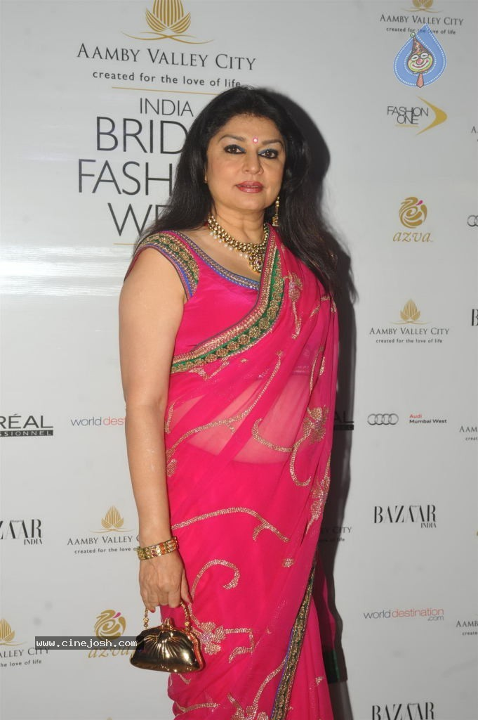 Celebs at Aamby Valley India Bridal Fashion Week - Click for next ...