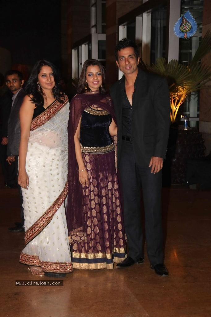 Genelia N Ritesh Reception Photos
