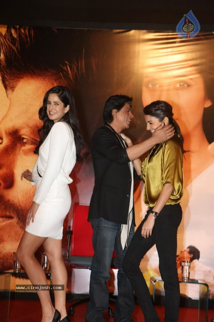 Jab Tak Hai Jaan Press Meet  Jab Tak Hai Jaan Cast