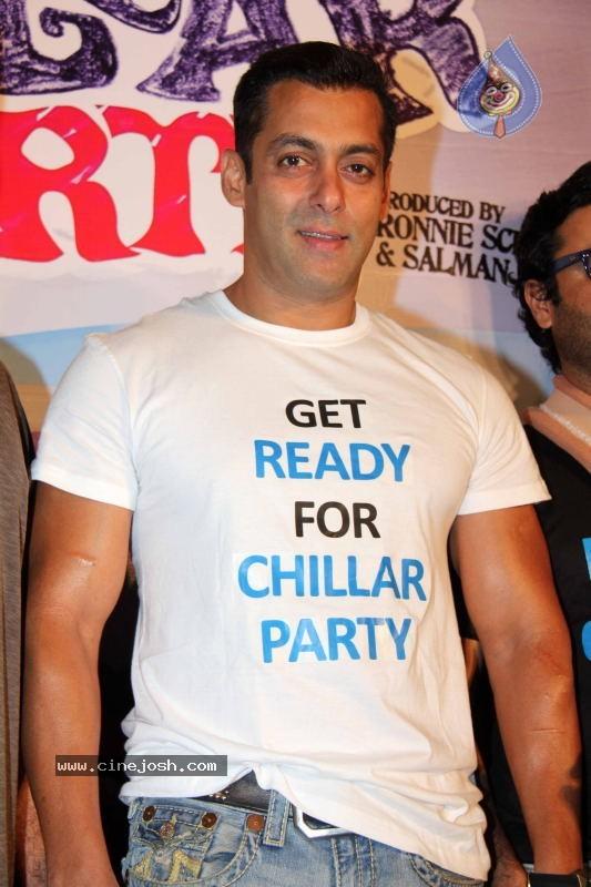 Bollywood: Salman Khan at Chillar Party Movie Press Meet big photo ...