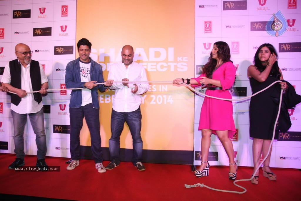 Shaadi ke side effects 1st look launch click for next photo