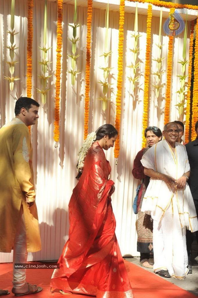 Vidya Balan Wedding Ceremony